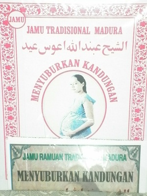 Jamu dan Ramuan Madura  Subur Kandungan (Untuk 1 Bulan)
