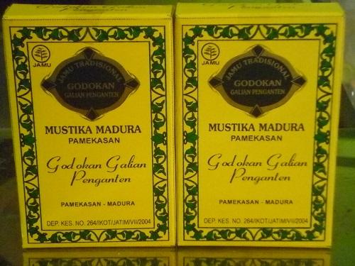 Jamu dan Ramuan Madura Godokan Galian Penganten Mustika Madura (1 bungkus)