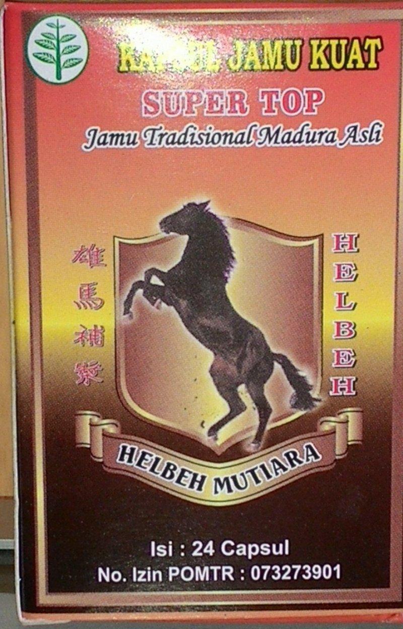 Jamu dan Ramuan Madura Jamu Kuat Helbeh Mutiara- 24 Kapsul