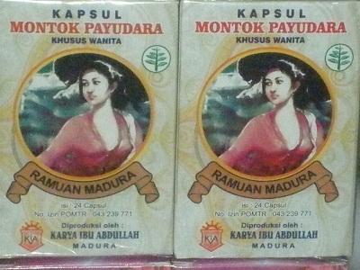 Jamu dan Ramuan Madura Kapsul Montok Payudara (24 Kapsul)
